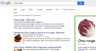 Avec ses « onebox », Google devient de plus en plus un concurrent des propriétaires de site